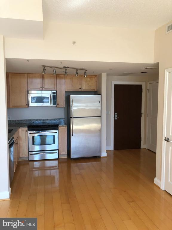 Upgraded gourmet kitchen - 1020 N HIGHLAND ST #223, ARLINGTON