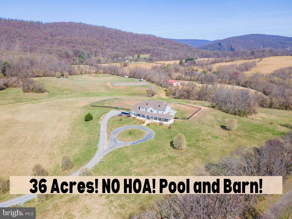 Amazing Opportunity To Own 36 acres in Loudoun! - 11170 GEORGES MILL RD, LOVETTSVILLE