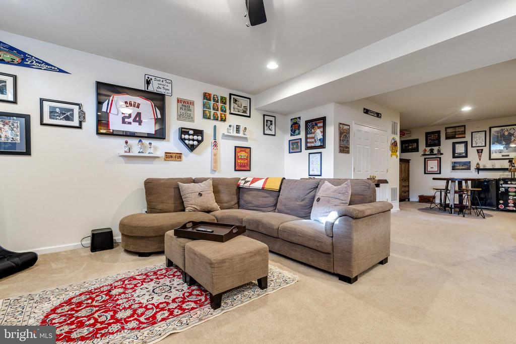 Basement rec room - 15659 ALTOMARE TRACE WAY, WOODBRIDGE