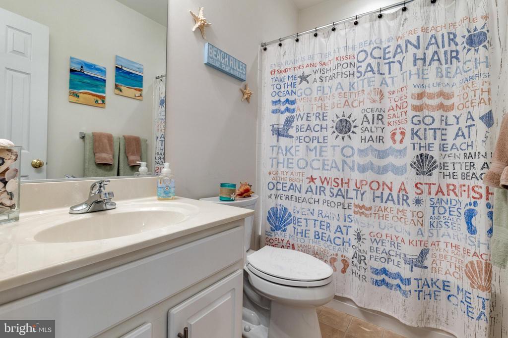 Basement Bathroom - 15659 ALTOMARE TRACE WAY, WOODBRIDGE