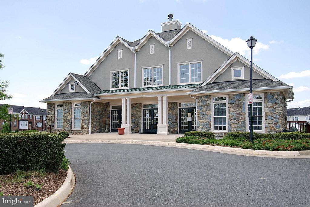 Beautiful community clubhouse... - 43191 BURSTALL CT, LEESBURG