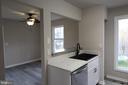 Dining Room & Kitchen - 343 ALBANY ST, FREDERICKSBURG