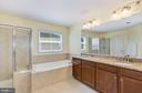 Owners suite bathroom - 21251 FAIRHUNT DR, ASHBURN