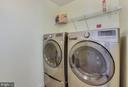 Bedroom level laundry - 21251 FAIRHUNT DR, ASHBURN