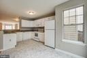 Kitchen NEW flooring - 206 CROSSING RD, FREDERICKSBURG