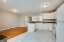 Kitchen - 206 CROSSING RD, FREDERICKSBURG