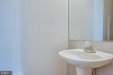 Half bath on mail level - 206 CROSSING RD, FREDERICKSBURG
