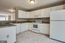 Kitchen painted cabinets - 206 CROSSING RD, FREDERICKSBURG