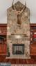 Floor to Ceiling fireplace - 7235 WOODVILLE RD, MOUNT AIRY