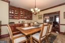 Custom built ins - 7235 WOODVILLE RD, MOUNT AIRY