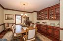 Formal Dining Room - 7235 WOODVILLE RD, MOUNT AIRY