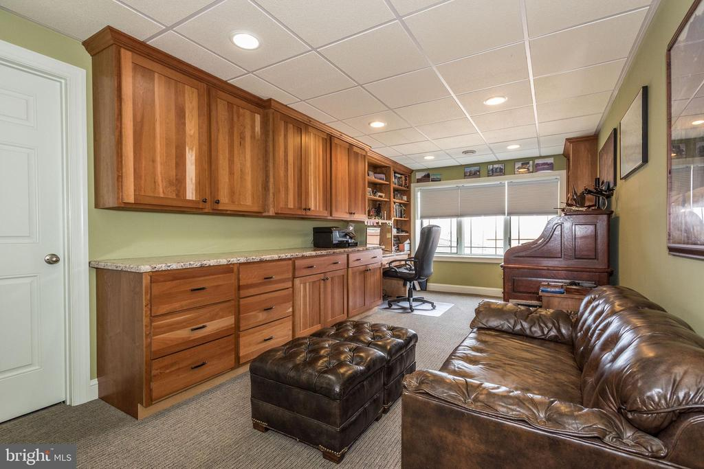 Downstairs office - 7235 WOODVILLE RD, MOUNT AIRY