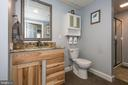 Downstairs full bathroom - 7235 WOODVILLE RD, MOUNT AIRY