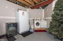 Extra fridge/freezer conveys - 7235 WOODVILLE RD, MOUNT AIRY