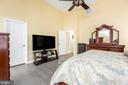 Vaulted ceiling with fan - 20261 MACGLASHAN TER, ASHBURN