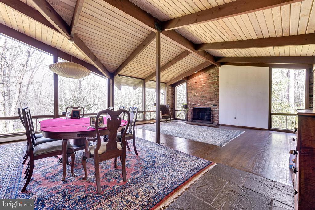 Dining/Living Room - 10535 VALE RD, OAKTON