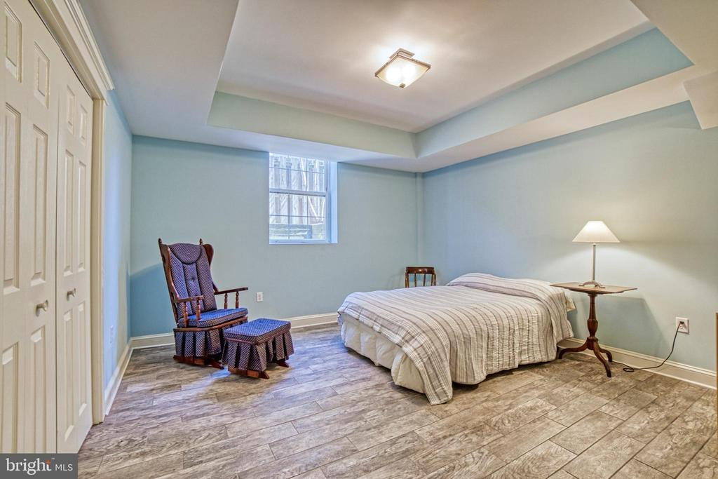 Basement bedroom. Tray ceiling.Access to full bath - 6519 ELMHIRST DR, FALLS CHURCH