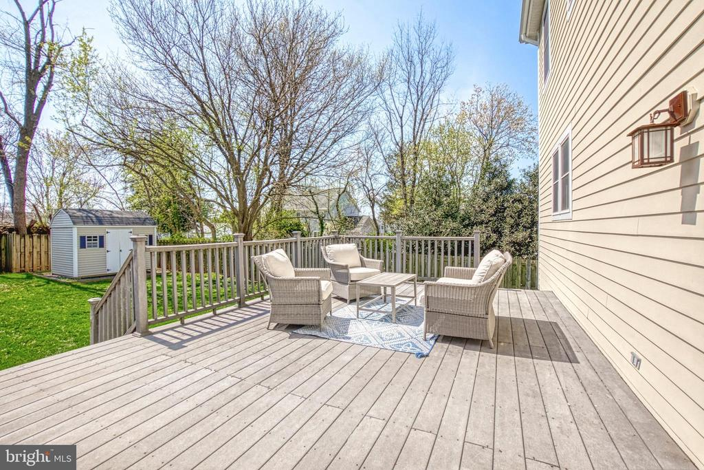 Sun-drenched, Southern exposure. - 6519 ELMHIRST DR, FALLS CHURCH
