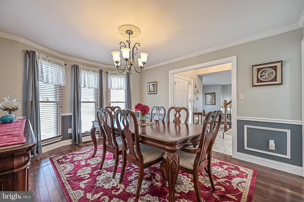 Formal dining room - 9326 MAINSAIL DR, BURKE