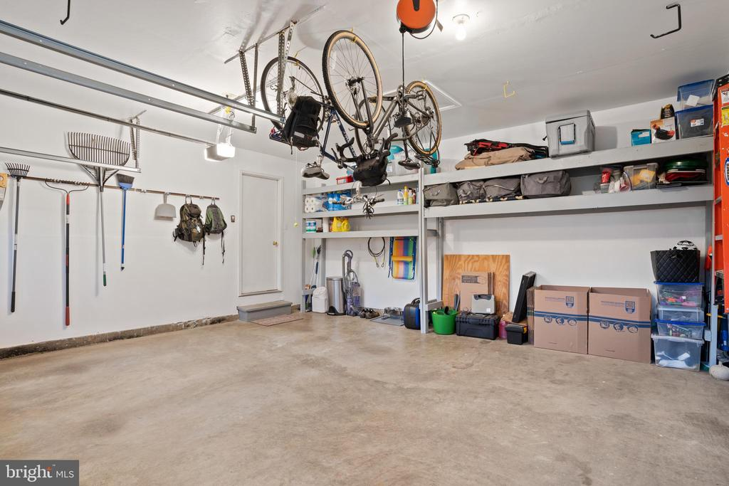 2 Car Garage with Shelving - 311 ASHTON DR SW, LEESBURG