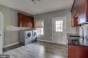 Main level Laundry Mud Room - 22441 BEAVERDAM DR, ASHBURN