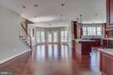 Open Floor Plan - 22441 BEAVERDAM DR, ASHBURN