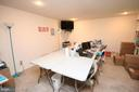 Lower level bedroom/recreation room - 13970 BIG YANKEE LN, CENTREVILLE
