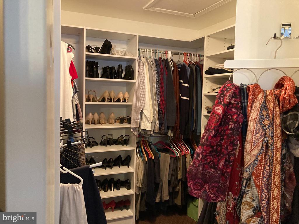 Primary Walk-in Closet with Built-ins - 4170 MCCLOSKEY CT, CHANTILLY