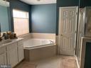 Primary Bath - 4170 MCCLOSKEY CT, CHANTILLY