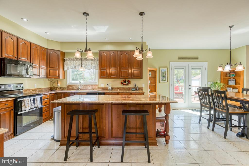 Gorgeous Kitchen with  Cherry Cabinets - 3 LEGAL CT, STAFFORD