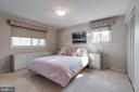 Large Primary Bedroom with Two Closets - 8800 TRAFALGAR CT, SPRINGFIELD