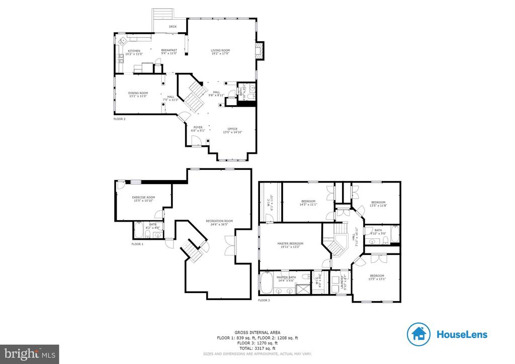 Floorplan - 15659 ALTOMARE TRACE WAY, WOODBRIDGE