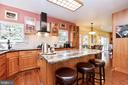 Natural Cherry Wood Cabinets! - 20693 LONGBANK CT, STERLING