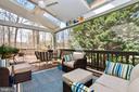 3 seasons screened back porch - 20693 LONGBANK CT, STERLING