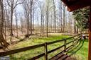 Fenced yard - 20693 LONGBANK CT, STERLING
