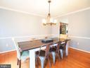 Dining room - 16078 DEER PARK DR, DUMFRIES