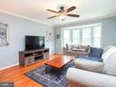 Living room - 16078 DEER PARK DR, DUMFRIES