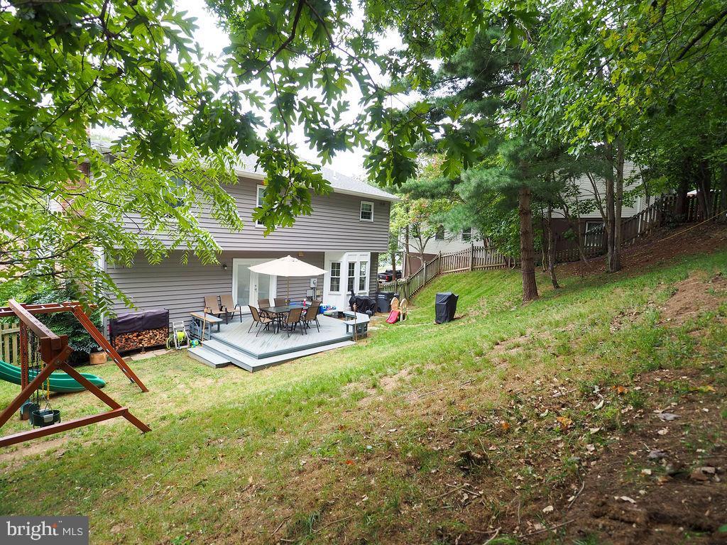 Backyard - 16078 DEER PARK DR, DUMFRIES