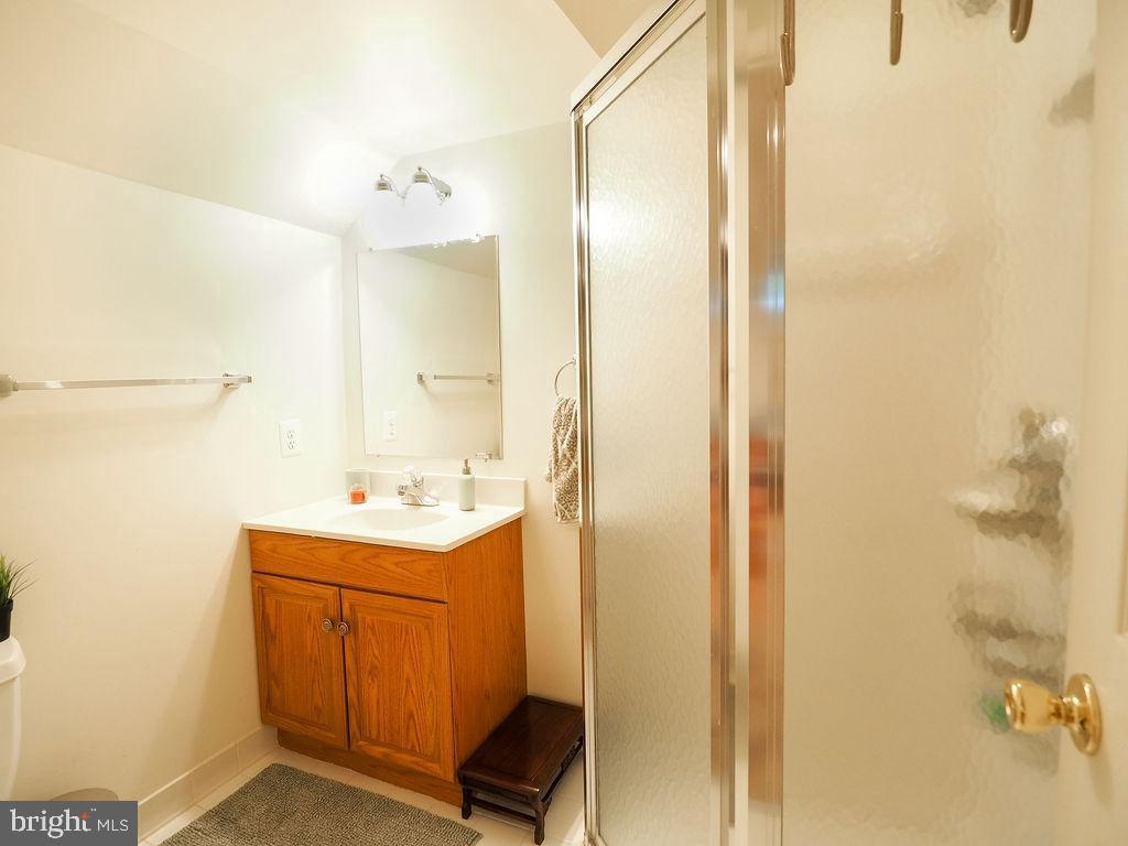 Full bath lower level - 16078 DEER PARK DR, DUMFRIES