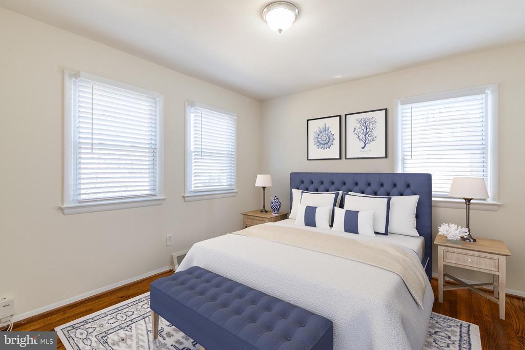 Bedroom (Virtual Staging) - 8522 CYRUS PL, ALEXANDRIA