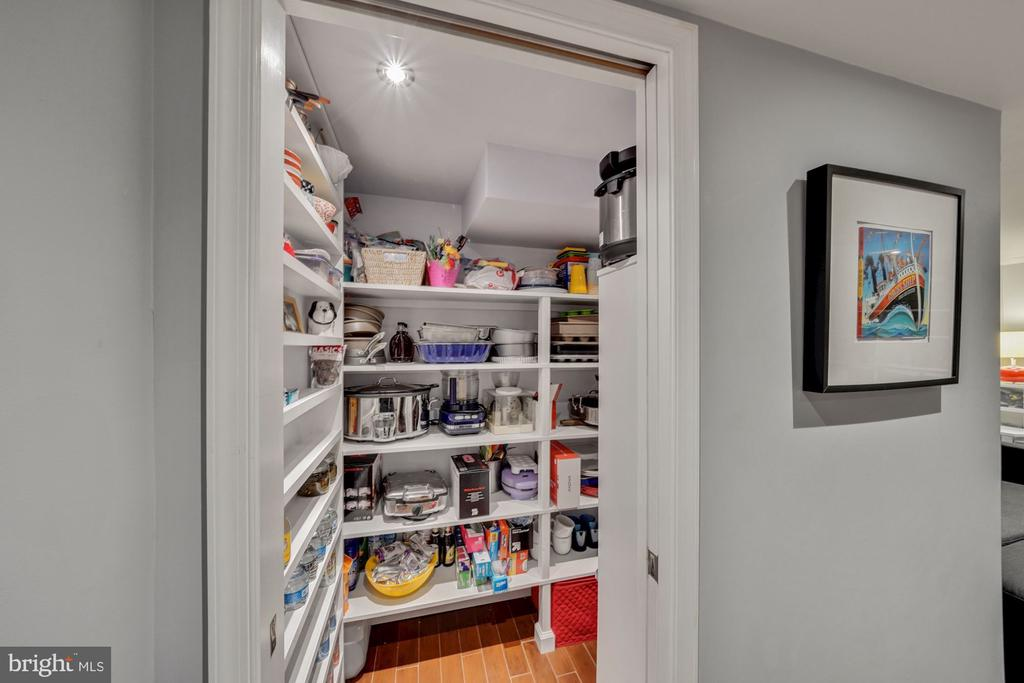 Huge Walk-in Storage Closet - 1500 N KENILWORTH ST, ARLINGTON