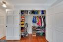 Mudroom Coat and Storage Closet - 1500 N KENILWORTH ST, ARLINGTON