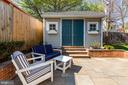 Charming Shed and Flagstone Patio - 1500 N KENILWORTH ST, ARLINGTON