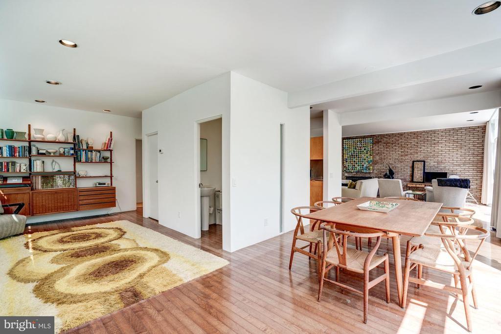 Family Room/Dining Room - 3206 ROWLAND PL NW, WASHINGTON