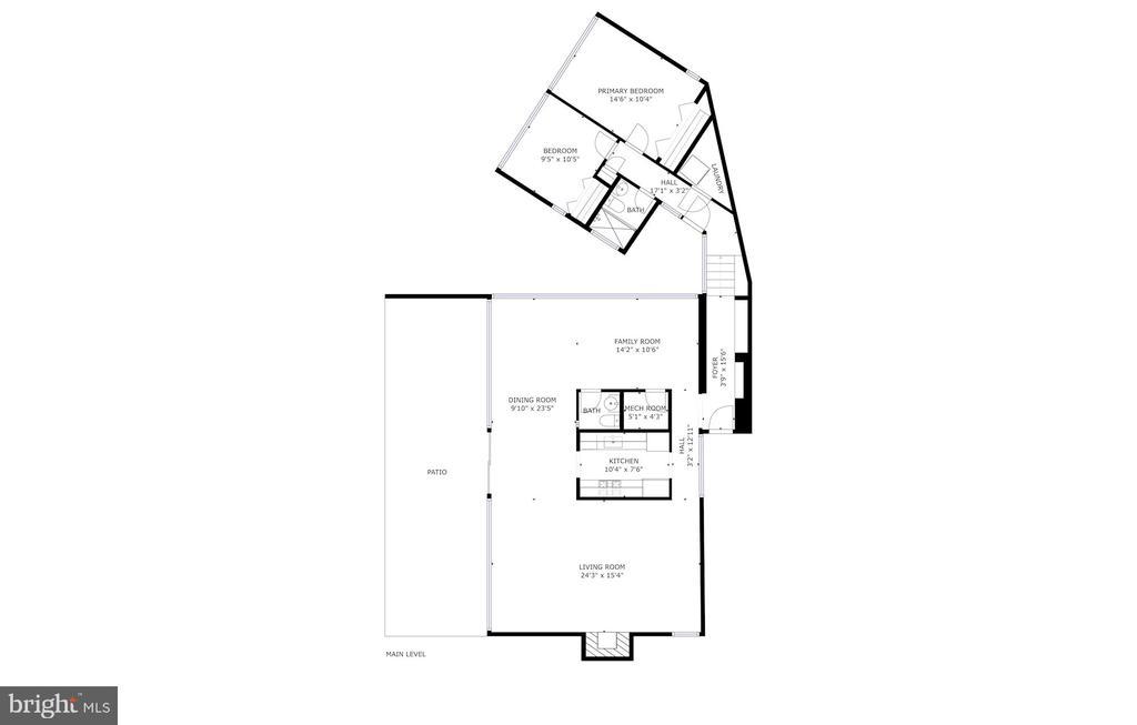 Floor Plan - 3206 ROWLAND PL NW, WASHINGTON