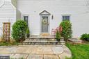 Side Entrance With Fab Landscaping & Pavers - 16 MCPHERSON CIR, STERLING