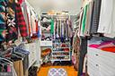 Owner's Professional Built inWalk In Closet - 16 MCPHERSON CIR, STERLING