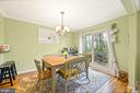 Spacious Dinning Room-Open to Deck - 16 MCPHERSON CIR, STERLING