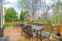 Exterior Decking-backing to woods/trees - 16 MCPHERSON CIR, STERLING