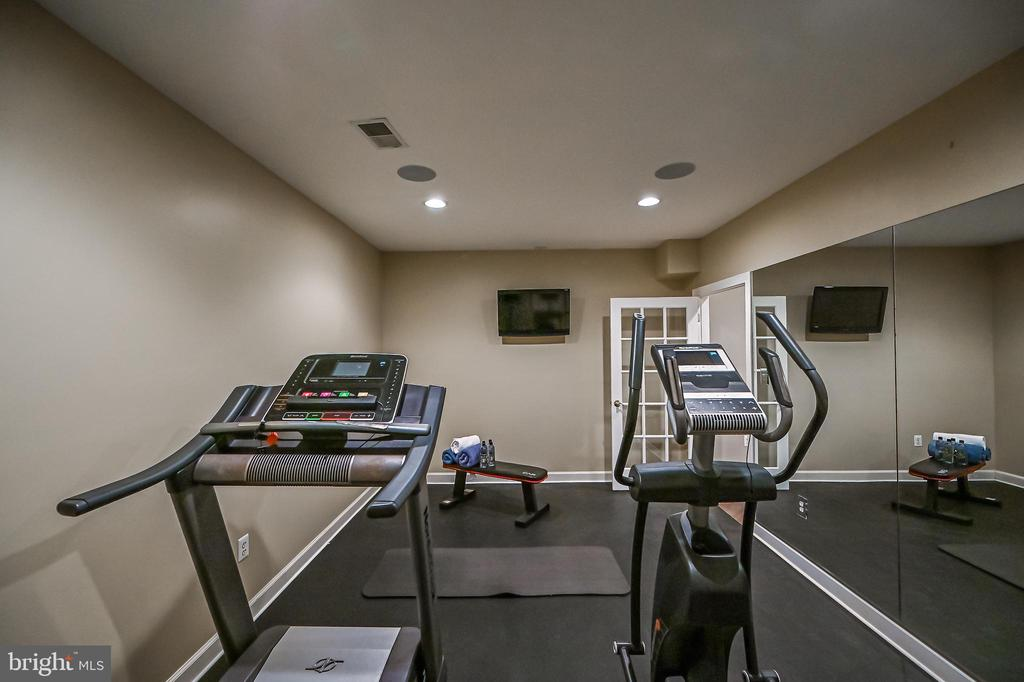 Fitness Room - 10303 FOREST MAPLE RD, VIENNA